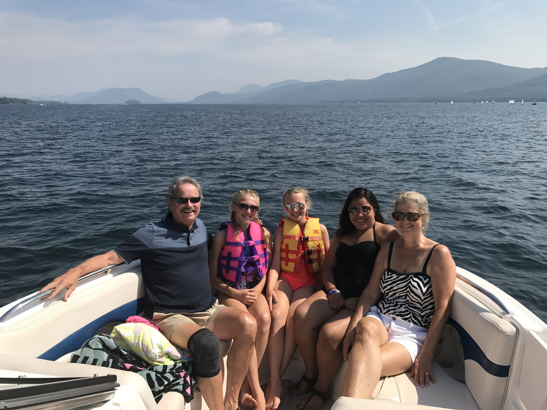 Boating on Lake George